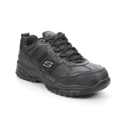 Skechers Trainers - Black - 77013EC WORK STRIDE