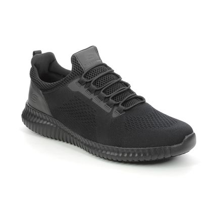 Skechers Trainers - Black - 77188EC WORK TRAINER CESSNOCK RELAXED
