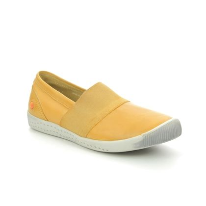 Softinos Comfort Slip On Shoes - Yellow - P900497/006 INO