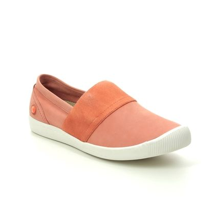 Softinos Comfort Slip On Shoes - Coral - P900497/011 INO