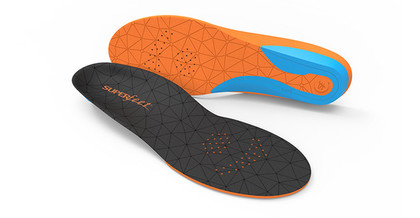 Superfeet Insoles Insoles - Black orange - FLEX Medium Volume Insoles