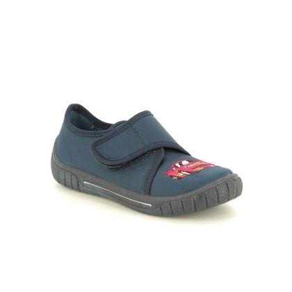 Superfit Boys Shoes - Navy - 00271/83 BILL CAR