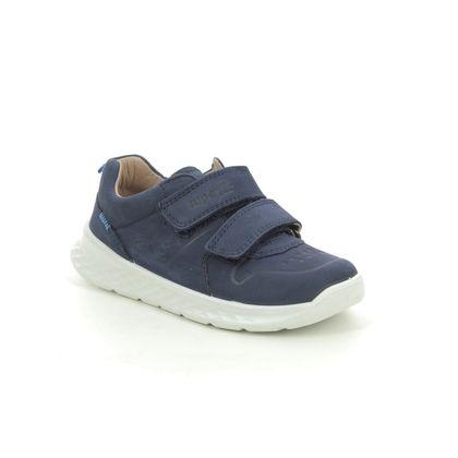 Superfit Boys Shoes - Navy nubuck - 1000365/8000 BREEZE