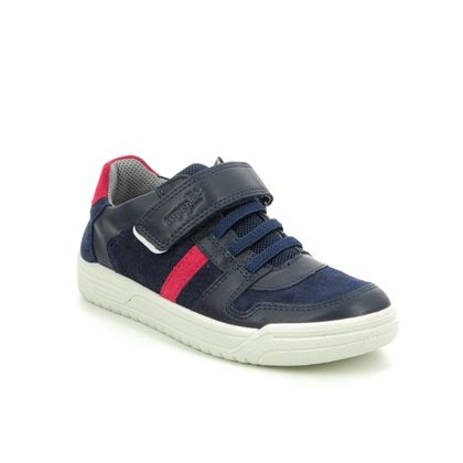 Superfit Boys Shoes - Navy Red - 06055/81 EARTH 25