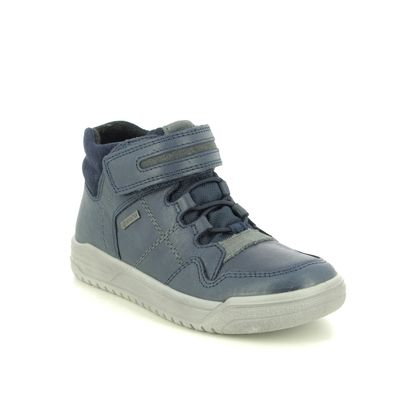 Superfit Boys Boots - Navy Leather - 1009062/8000 EARTH  GTX