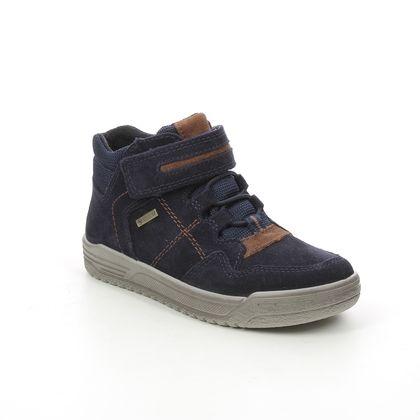 Superfit Boys Boots - Navy suede - 1009059/8000 EARTH  GTX LUKE