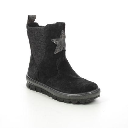Superfit Girls Boots - Black suede - 1000217/0000 FLAVIA STAR GTX