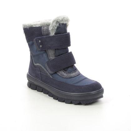 Superfit Girls Boots - Navy suede - 1009214/8000 FLAVIA VEL GTX