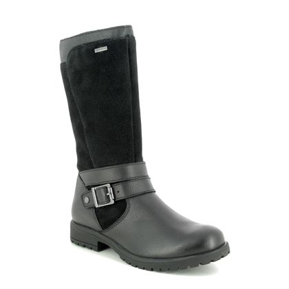 Superfit Girls Boots - Black leather - 09175/00 GALAXY GORE 95