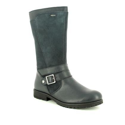 Superfit Girls Boots - Navy - 09175/20 GALAXY GORE TE