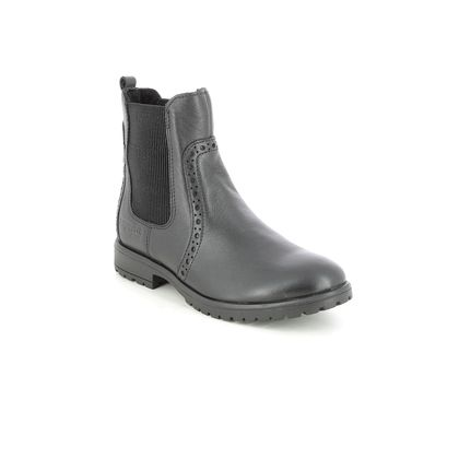 Superfit Girls Boots - Black leather - 1006167/0000 GALAXY GTX CHEL