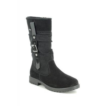 Superfit Girls Boots - Black Suede - 09177/01 GALAXY HI GORE