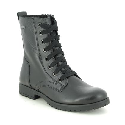 Superfit Girls Boots - Black leather - 1006170/0000 GALAXY LACE GTX