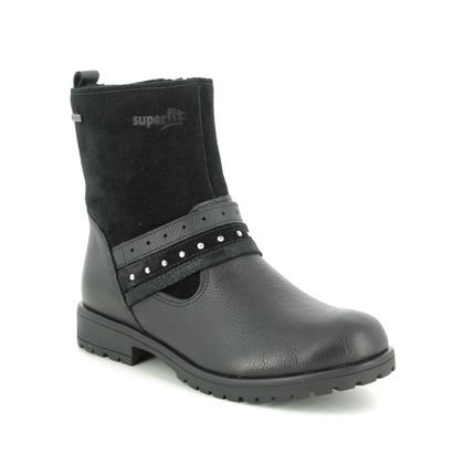 Superfit Girls Boots - Black leather - 06179/01 GALAXY LOW GTX
