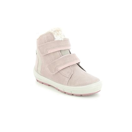 Superfit Infant Girls Boots - Pink suede - 1006313/5500 GROOVY GTX
