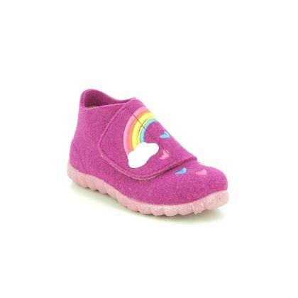 Superfit Slippers - Pink - 1000295/5500 HAPPY RAINBOW