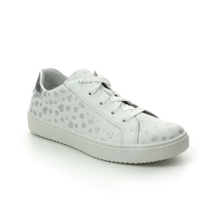 Superfit Girls Shoes - White-silver - 09488/11 HEAVEN LACE