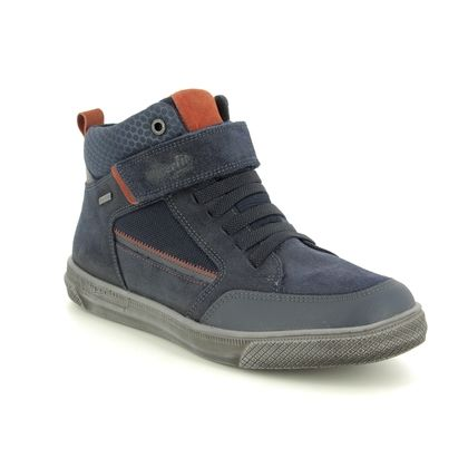 Superfit Boys Boots - Navy Suede - 09200/80 LUKE GORE TEX