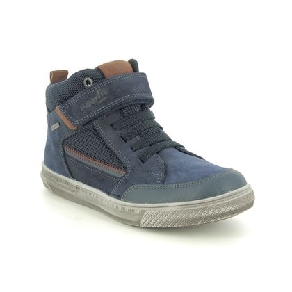 Superfit Boys Boots - Navy Suede - 1009200/8000 LUKE GORE TEX