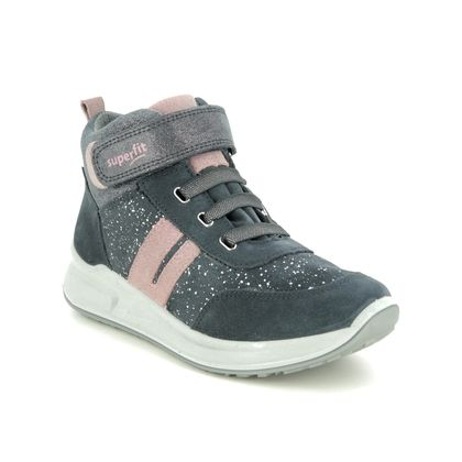 Superfit Girls Trainers - Grey-suede - 1009184/2000 MERIDA HS GTX