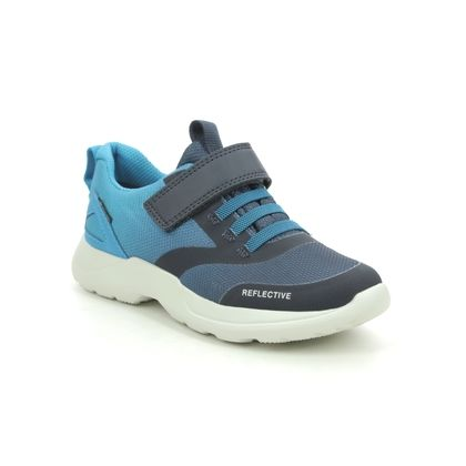 Superfit Boys Trainers - Navy-Blue - 1009209/8030 RUSH JNR B GTX