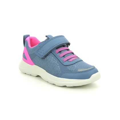 Superfit Girls Trainers - Blue - 1000211/8020 RUSH JNR G