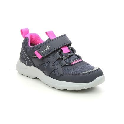 Superfit Girls Trainers - Navy Pink - 1006219/8020 RUSH JNR G GTX