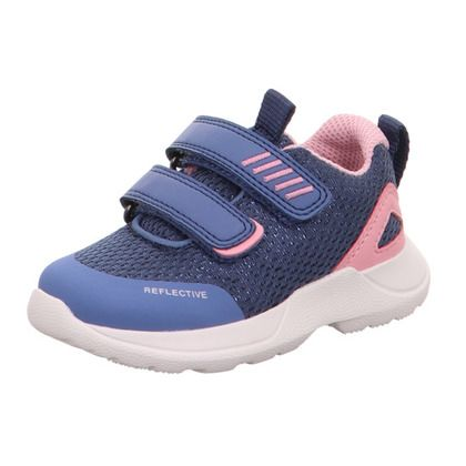Superfit Girls Trainers - Blue-pink - 09207/81 RUSH MINI