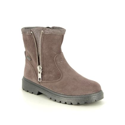 Superfit Girls Boots - Dark Taupe Suede - 09456/90 SPIRIT GORE TE