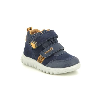 Superfit Infant Boys Boots - Navy suede - 1009199/8000 SPORT7 MINI GTX