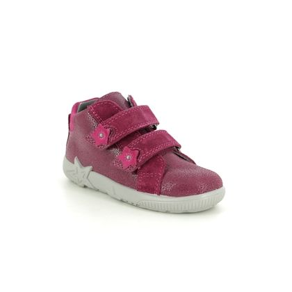 Superfit Infant Girls Boots - Red suede - 09431/50 STARLIGHT