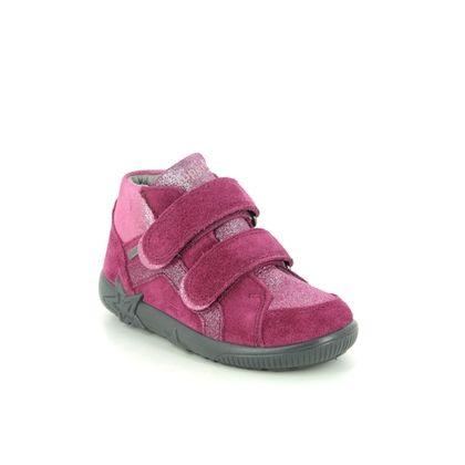 Superfit Infant Girls Boots - Pink suede - 1009441/5000 STARLIGHT GTX
