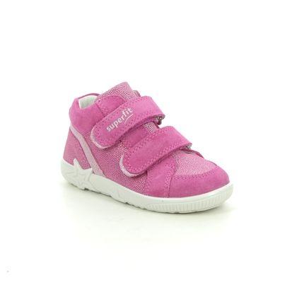 Superfit 1st Shoes & Prewalkers - Pink - 1006434/5500 STARLIGHT HI TOP 2V