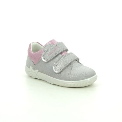 Superfit 1st Shoes & Prewalkers - Light Grey - 1006437/2500 STARLIGHT LO 2V