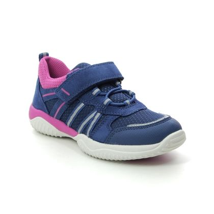 Superfit Girls Trainers - Blue-Pink - 06383/81 STORM