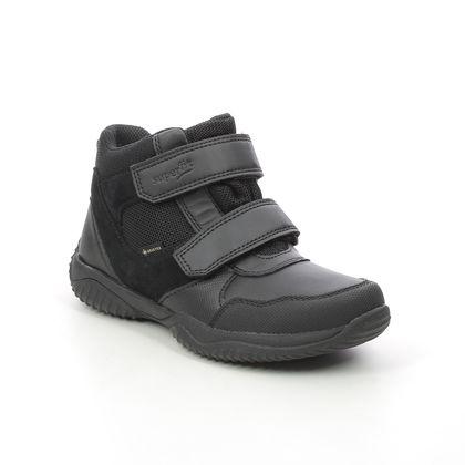 Superfit Boys Boots - Black leather - 1009389/0010 STORM  BOOT GTX