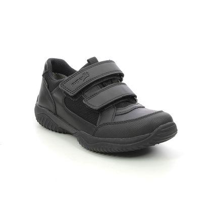 Superfit Boys Trainers - Black leather - 1009382/0000 STORM SHOE GTX