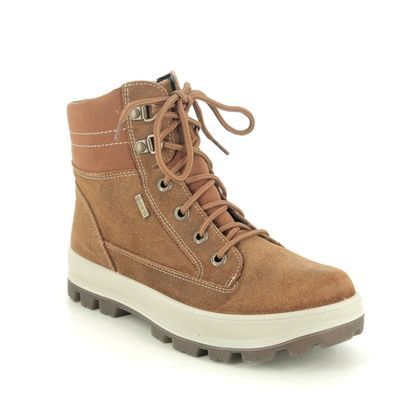 Superfit Boys Boots - Brown Suede - 0800473/3000 TEDD   GTX