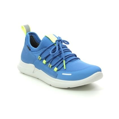 Superfit Boys Trainers - Blue Lime - 09390/81 THUNDER GTX
