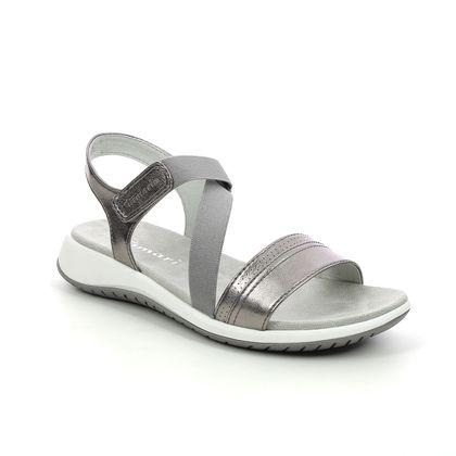 Tamaris Walking Sandals - Pewter - 28389/26/915 ALESSANDRIA