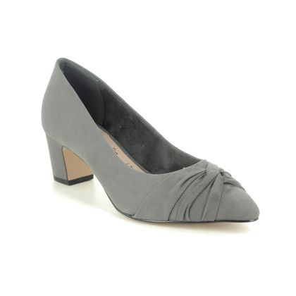 Tamaris Court Shoes - Grey - 22409/25/206 ARES