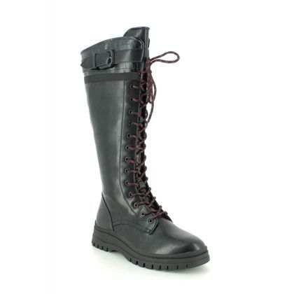 Tamaris Knee High Boots - Black - 25620/25/001 ARTEMIS