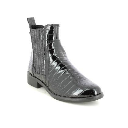 Tamaris Chelsea Boots - Black croc - 25453/27/001 BAEYCHEL