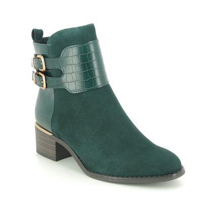 Tamaris Heeled Boots - Petrol Suede - 25344/25/788 BAKU