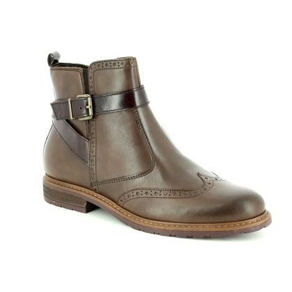 Tamaris Chelsea Boots - Brown leather - 25004/21/312 BELIN  85