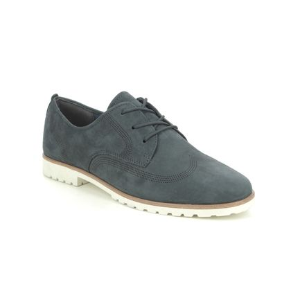 Tamaris Brogues - Navy nubuck - 23210/26/805 CAREEN