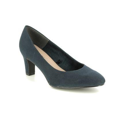 Tamaris Court Shoes - Navy - 22418/24/805 CAXIAS 01