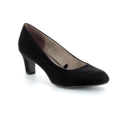 Tamaris Heeled Shoes - Black - 22418/20/001 CAXIAS 81