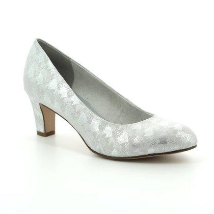 Tamaris Court Shoes - Silver - 22418/20/927 CAXIAS 81