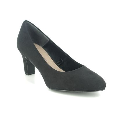 Tamaris Court Shoes - Black - 22418/21/001 DAENERYS